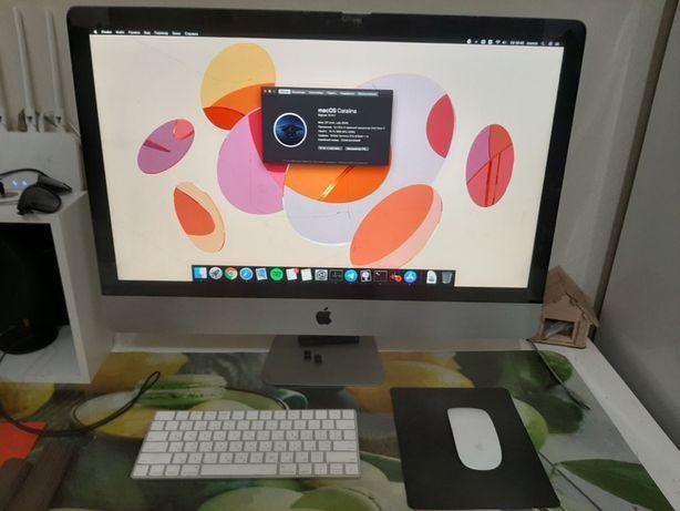 "iMac 27"" (Late 2012) i7 3.4GHz 16G 128ssd gtx675mx 1G треснуто стекло"