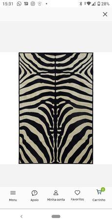 Carpete zebra 120*200cm