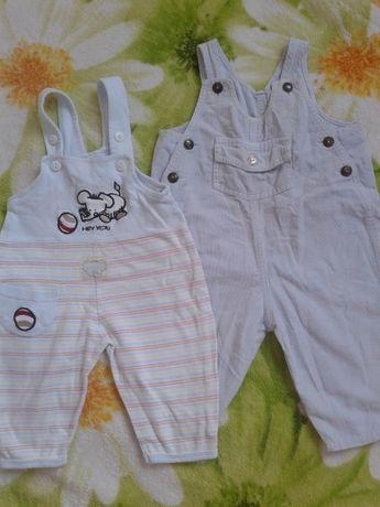 Комбинезон, комбез, штаны детские летние вещи для мальчика р.62 3-4 ме