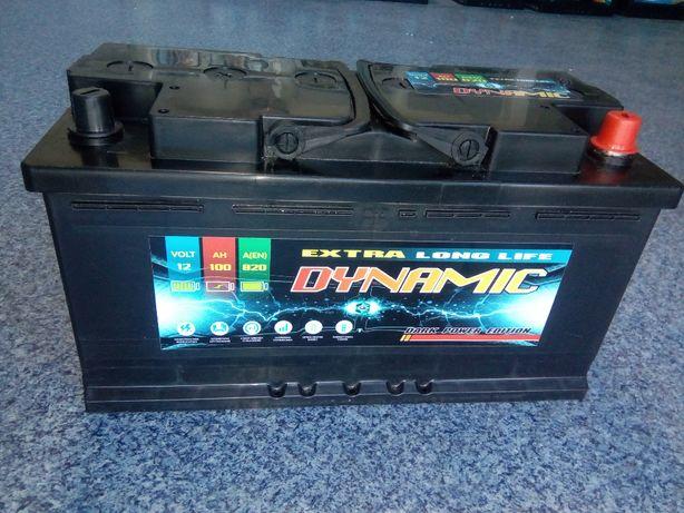 Akumulator DYNAMIC 12V 100Ah 820A Jasło