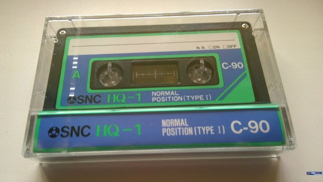 кассета аудиокассета SNC