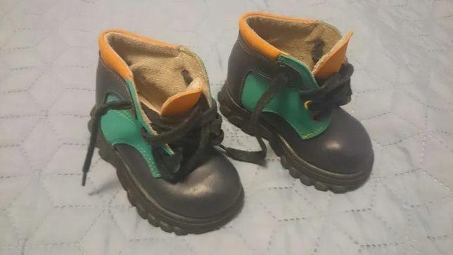 Buty skórzane dziecięce, rozmiar 22