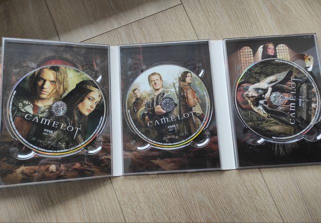 Serial dvd Camelot