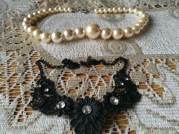 Biżuteria/naszyjniki zestaw