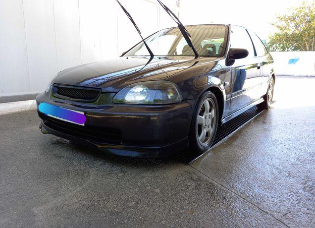 Honda civic ej9 com swap b18c4