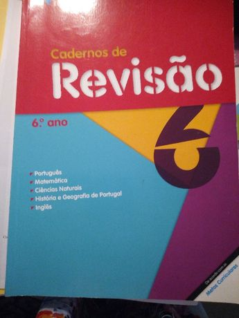 Cadernos de Revisão 6.º Ano