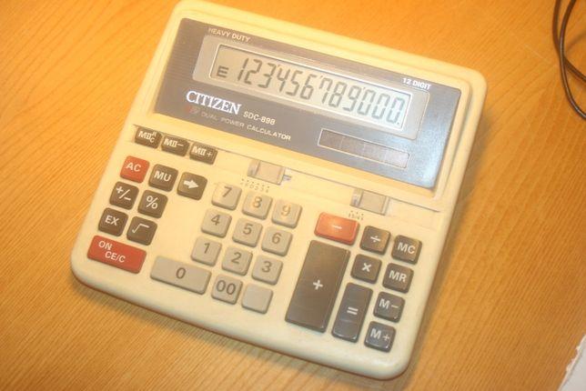 Продам калькулятор CITIZEN SDS-898 б/у.