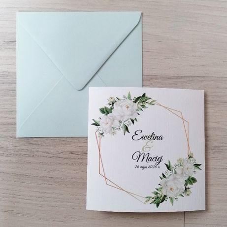 Zaproszenia ślubne MINT