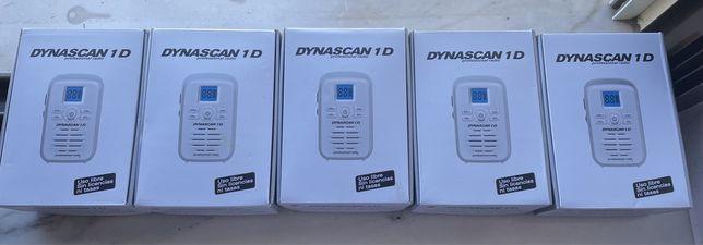 5 Walkie talkies Dynascan 1D novos!!!