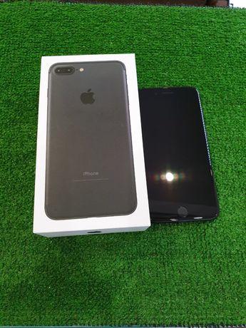 IPhone 7 Plus 32 black Neverlock Гарантия 3мес 100%акб ,идеал!МАГАЗИН