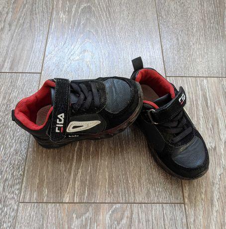 Кожаные кроссовки (полуботинки), 13 см