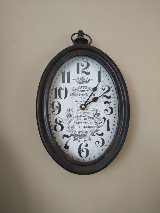 stylowy zegar ścienny vintage retro shabby chic Ozimek - image 1