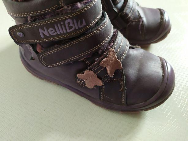 Zimowe buty,  botki Nelli Blu 24