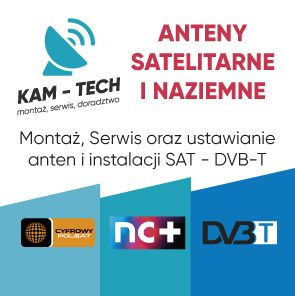 Montaż anten TV-SAT DVB-T serwis