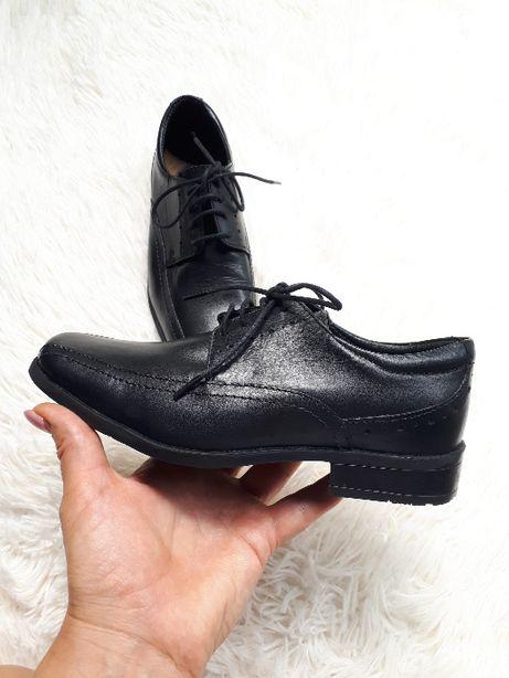 Классические туфли/кожа/мальчик /школa/George Англия/р.33(21см)см)м)