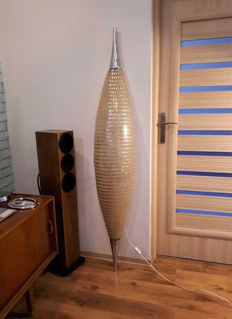 Lampa z włókna szklanego 180 cm Dania lata 60 vintage
