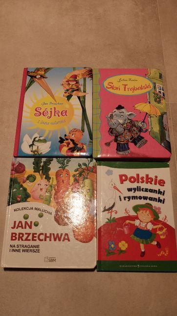 8x książeczki Tuwim Brzechwa miki clifford