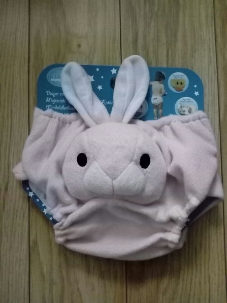 Majteczki pluszowe 3D na pampersa - królik