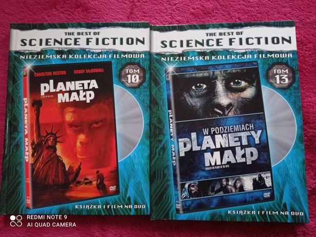 Planeta Małp i W podziemiach Planety Małp nowe DVD