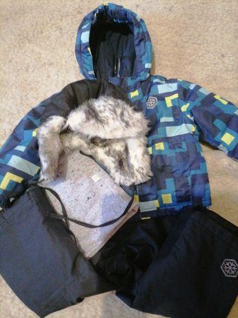 Курточка +штанишки детская Термо Lupilu ,размер 86/92.В хорошем состоя