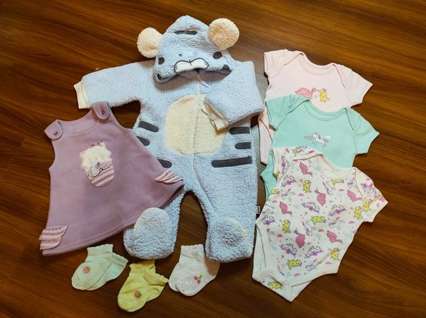 Вещи для девочки 3-6 месяцев