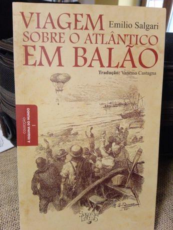 Viagem sobre o Atlântico em Balão (Emilio Salgari)