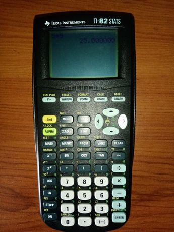 Máquina Calculadora TI-82 STATS