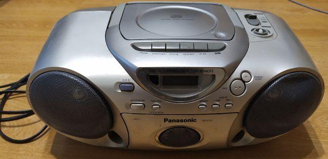 Panasonic RX-D19 - Кассетная стереомагнитола с CD
