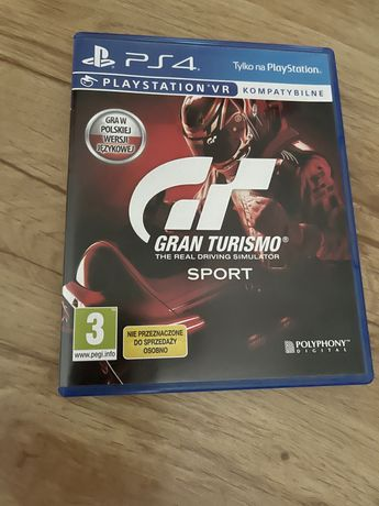 Gran Turismo Sport, gra na ps4, PlayStation 4, ps5, Playstation 5