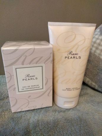 Rare Pearls Avon zestaw woda perfumowana i balsam do ciała