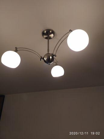 Lampa komplet do salonu i kuchni