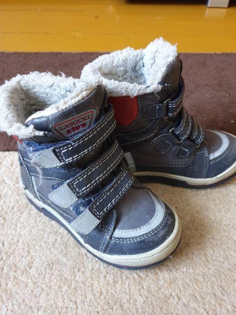 Buty zimowe dla chłopca lasocki kids roz. 25