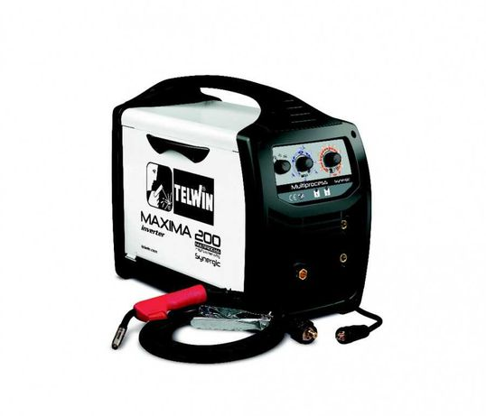 Máquina de Soldar MIG-MAG TELWIN Máxima 160 SYNERGIC