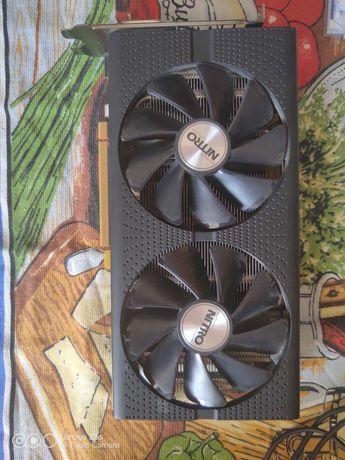 Видеокарта Radeon rx 480 8 gb (на запчасти)