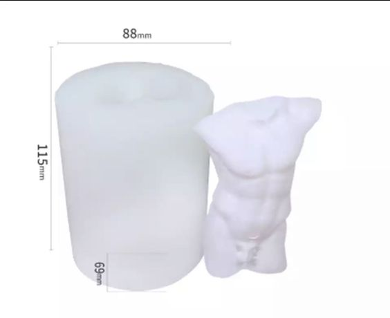 2 шт формы для свечи 16 см