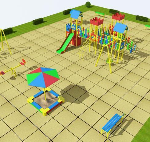 Детские площадки .