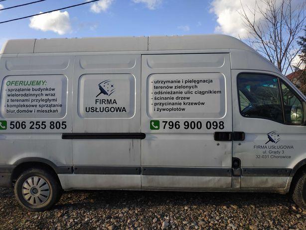 Usługi ogrodnicze prace porządkowe wycinka drzew koszenie trawy i inne