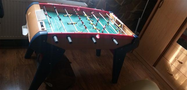 Piłkarzyki duży stół plastikowy