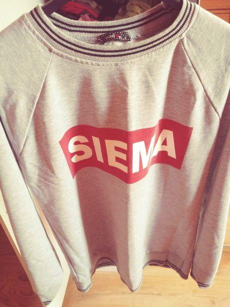 Bluza z napisem SIEMA