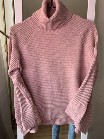 Sweterek eva minge S elastyczny różowy