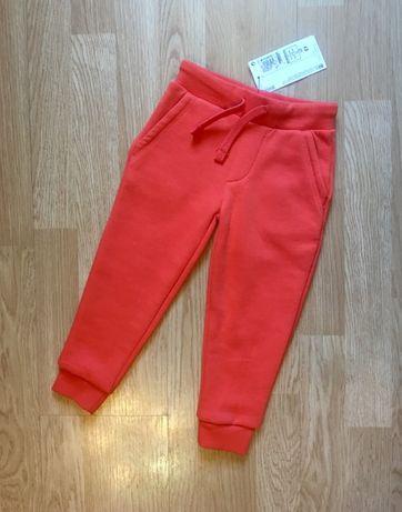 Детские штаны, штаны на флисе для мальчика Marks&Spenser, р. 92-98