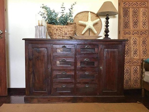 louceiro, armario, consola, comoda, oriental, rustico