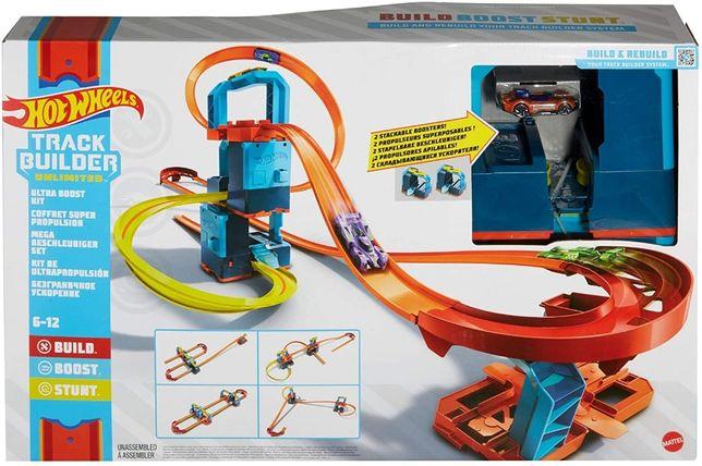 Трек Хот Вилс Комплект ультра ускорителей Hot Wheels Track Builder Unl