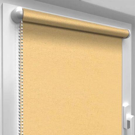 Рулонные шторы (золотой песок) ролеты, жалюзи