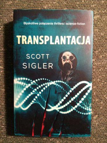 Transplantacja Scott Sigler - horror, groza