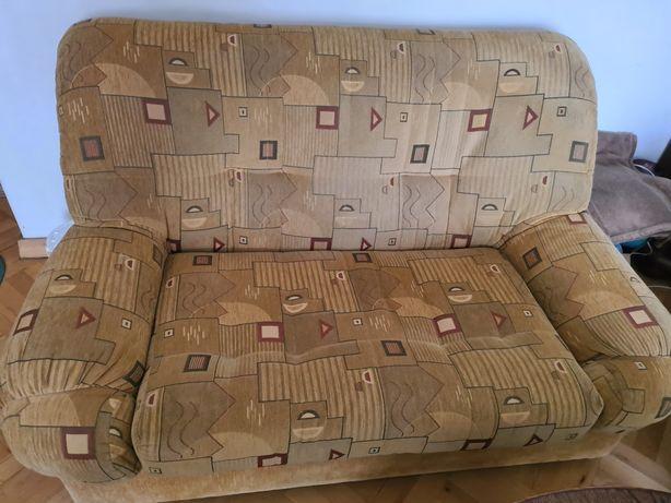 Komplet wypoczynkowy sofa kanapa stan bdb