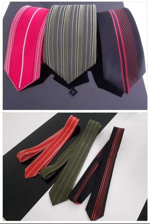 Krawat jedwab zestaw 3 sztuki Doris Simon