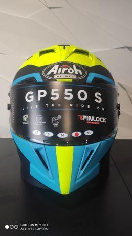 Kask Airoh GP550S Vector blue matt`XS`S`M`L`XL