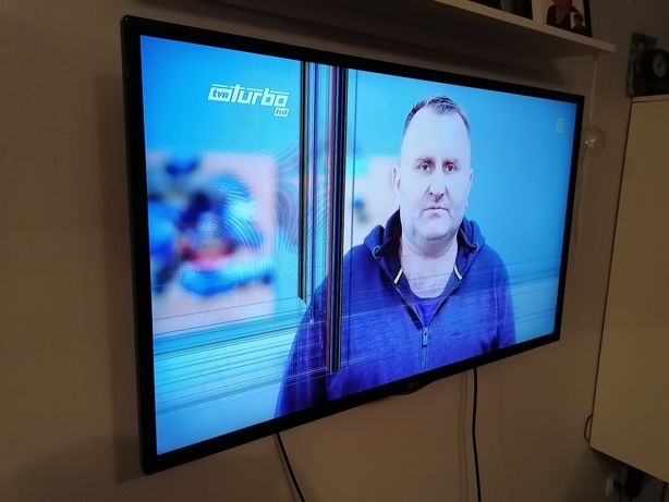 Telewizor lg 42 uszkodzony