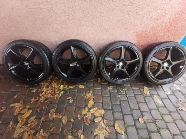 Felgi aluminiowe Seat Sport BBS 5x112 18cali+uniroyal rainsport